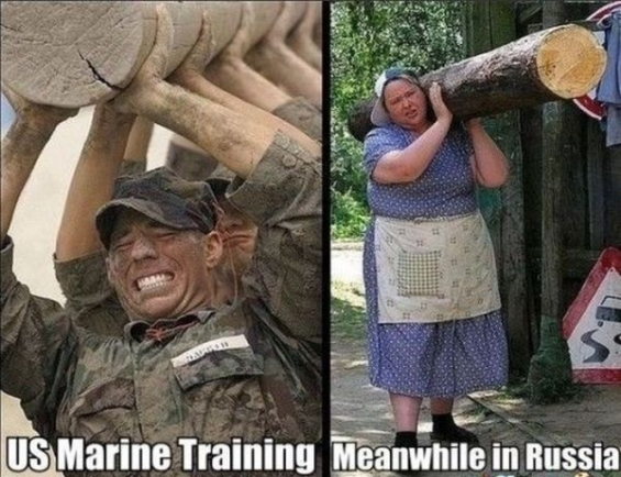 Amerikan askeri ve rus kadını resmi